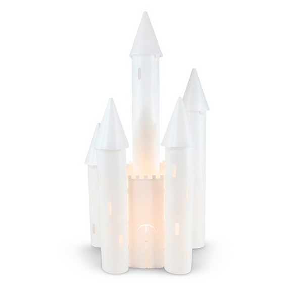 Enchanted Castle LED Battery Lamp