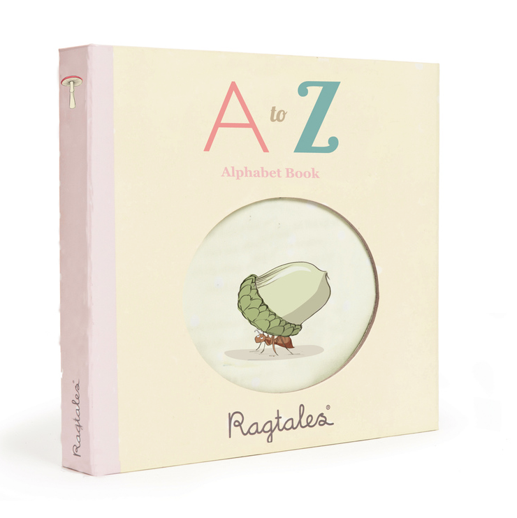 A to Z Cloth Book and Nursery Rhymes