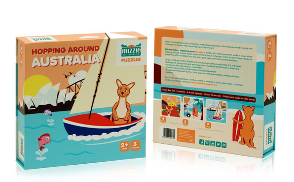 Hopping Around Australia Puzzle