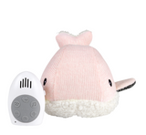 Moby the Whale Heartbeat Toy - Pink