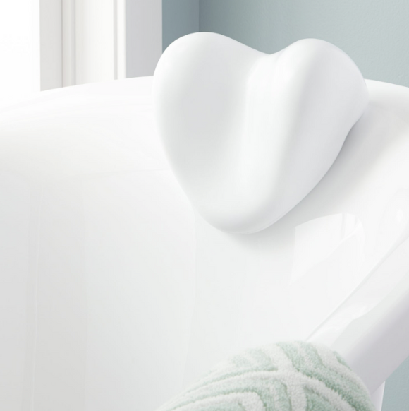 Bath Pillows White