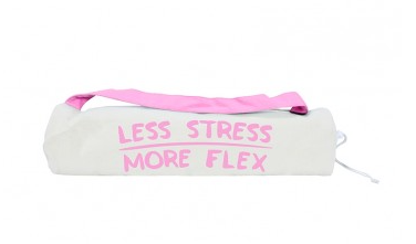 Yoga Mat Bag - Less Stress More Flex