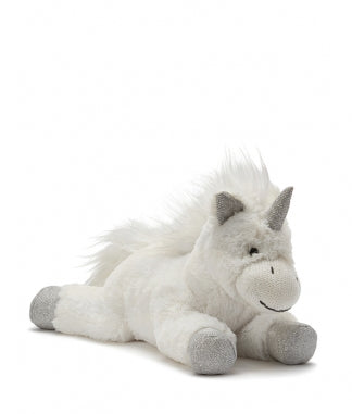 Silver Sprinkles Unicorn - Silver and White