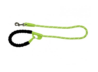Snap & Stay Dog Leash - Lime