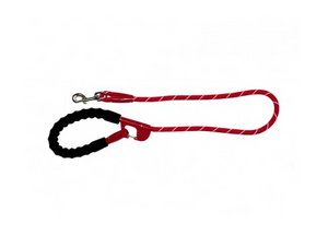 Snap & Stay Dog Leash - Red