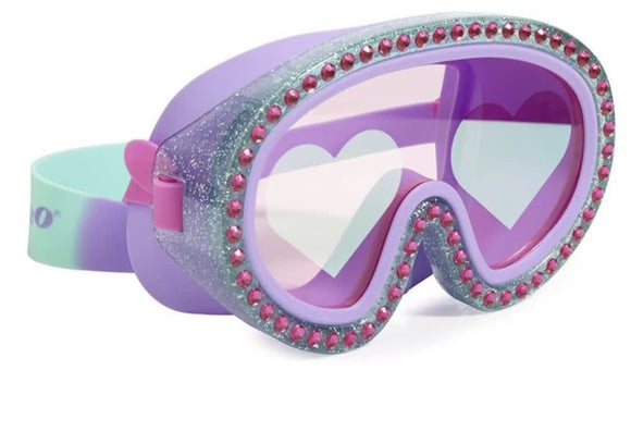 Bling2o's Glitter Heart swim mask