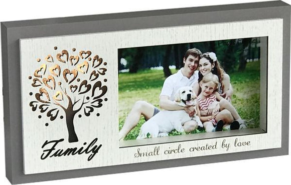 Family Photo Frame with LED