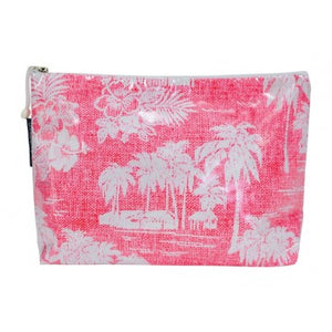 Cosmetic Bag - Tradewinds Pink  (Large)