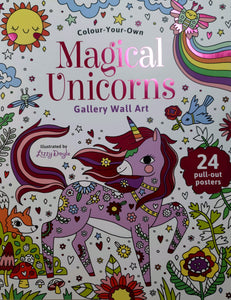 Magical Unicorns Gallery Wall Art Book