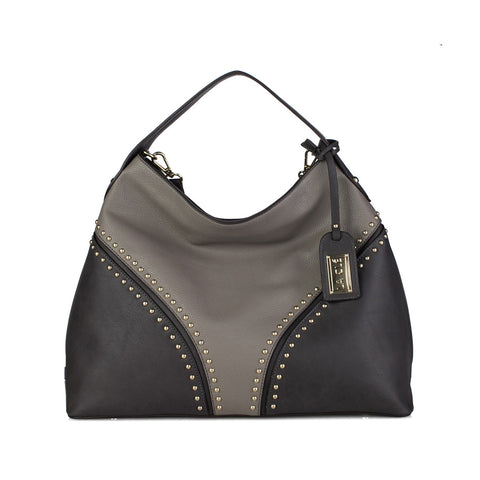 LA-009 Rivet Studded Hobo( 3 Colors )