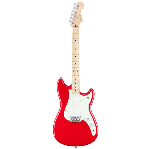 Fender Duo-Sonic - Torino Red/Maple Fingerboard