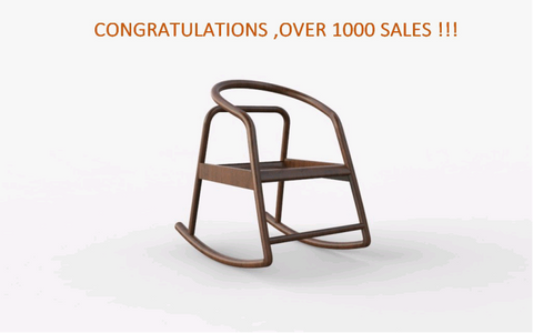 Rocking Chair over 1000 sales