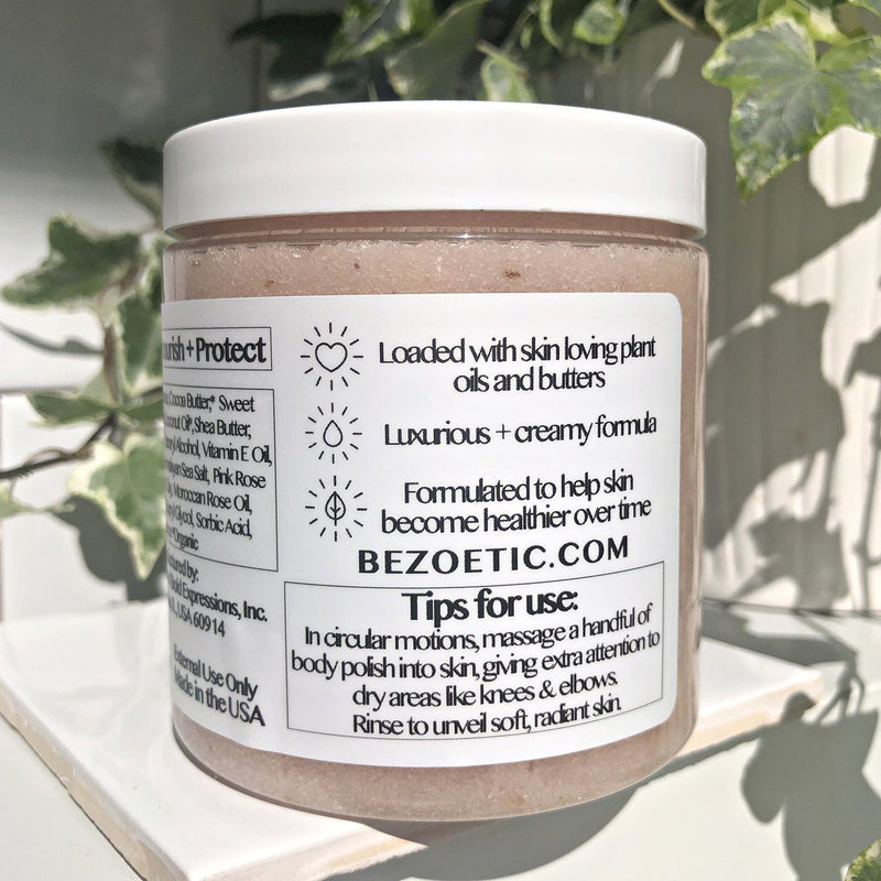 Blush Sugar Body Polish - Zoetic