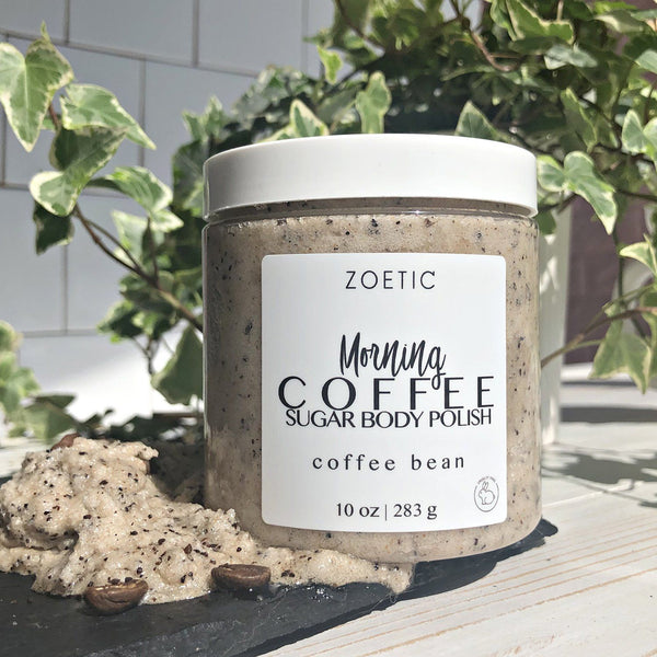 Morning Coffee Sugar Body Polish - Zoetic