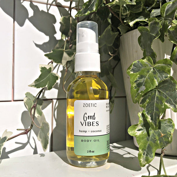 Good Vibes Body Oil - Zoetic