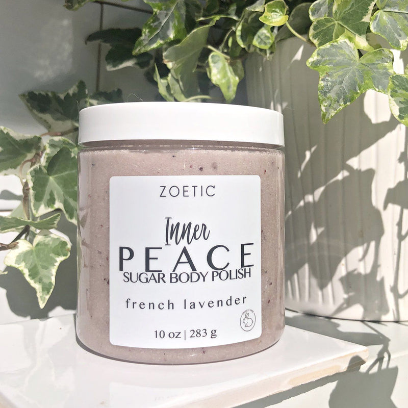 Inner Peace Sugar Body Polish - Zoetic