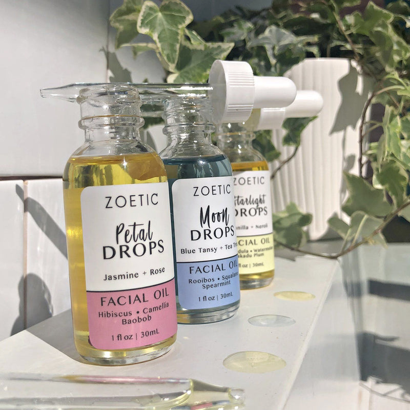 Petal Drops Facial Oil - Zoetic