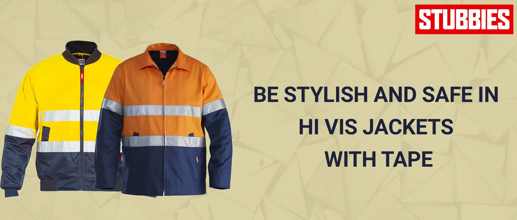 Be Stylish and Safe in Hi Vis Jackets with Tape