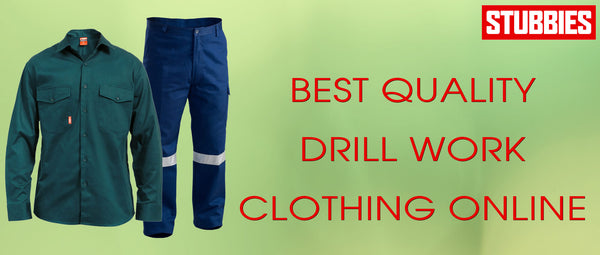 Best Quality Drill Work Clothing Online