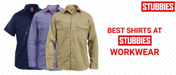 Best Shirts at Stubbies Workwear