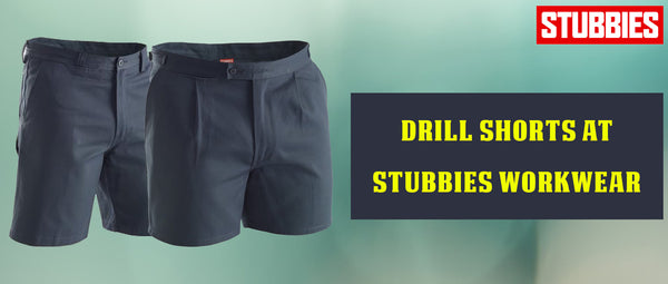 Drill Shorts at Stubbies Workwear