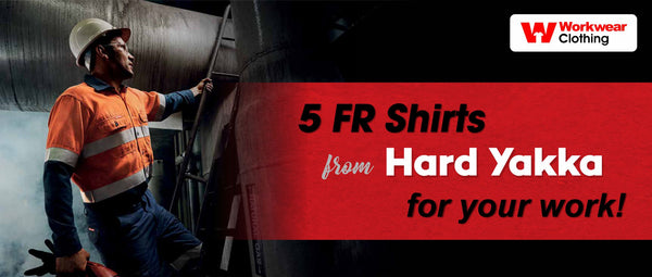 5 FR Shirts from Hardyakka for your work!
