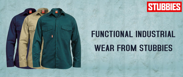 Functional Industrial Wear from Stubbies