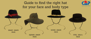 Guide to find the right hat for your face and body type