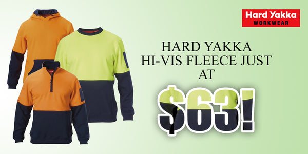 Hard yakka fleece
