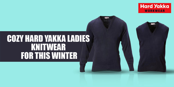 hard yakka ladies knitwear