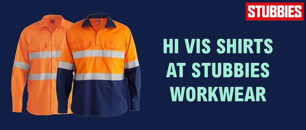 Hi Vis Shirts at Stubbies Workwear