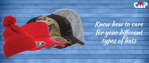 Know how to care for your different types of hats