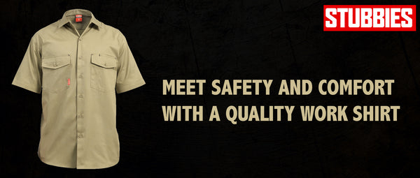Meet Safety and Comfort with a Quality Work Shirt