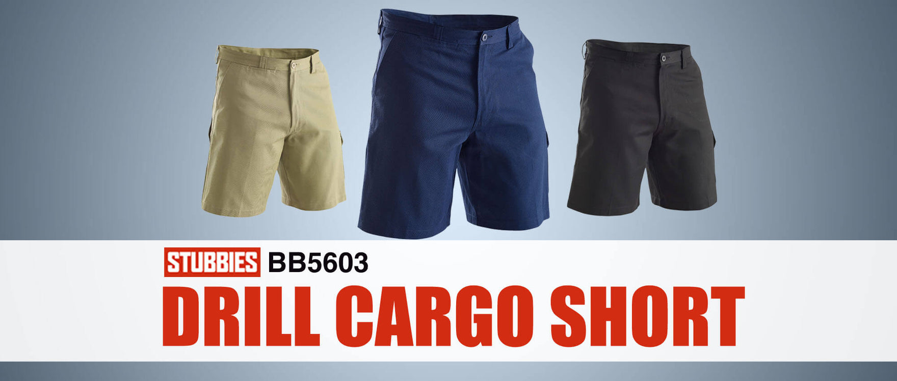Stubbies BB5603 Drill Cargo Short