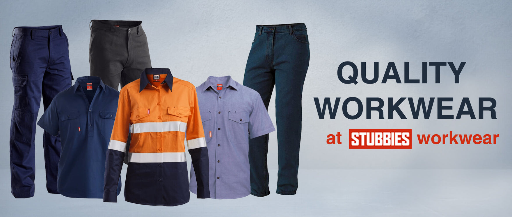 Quality Workwear at Stubbies Workwear
