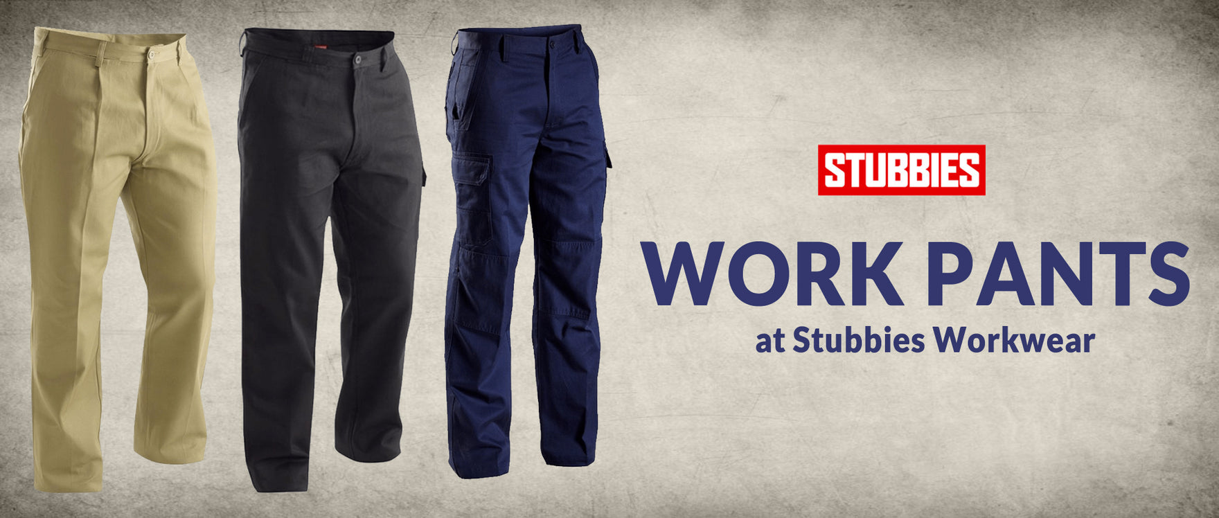 Work Pants at Stubbies Workwear