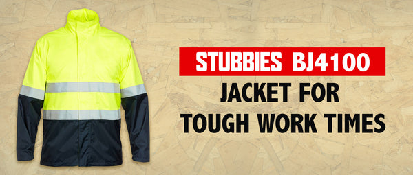 Stubbies BJ4100 Jacket for Tough Work Times