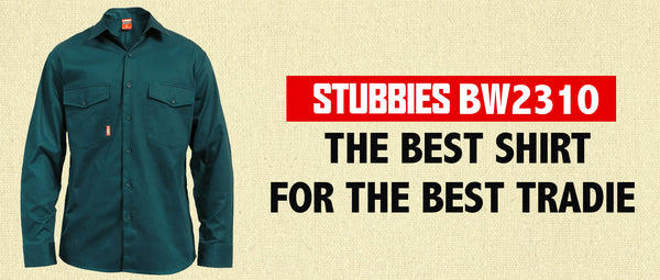 Stubbies BW2310 - the best Shirt for the best Tradie