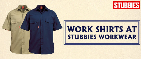 Work Shirts at Stubbies Workwear