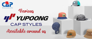 VARIOUS YUPOONG CAP STYLES AVAILABLE AROUND US