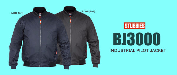 Stubbies BJ3000 Industrial Pilot Jacket