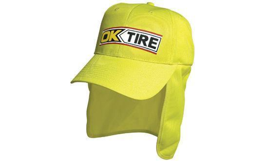 Headwear Luminescent Safety Cap with Flap (3023)