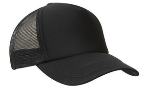 Headwear-Headwear Truckers Mesh Cap-Black / Free Size-Uniform Wholesalers - 2
