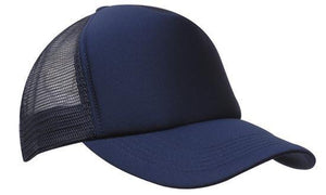 Headwear-Headwear Truckers Mesh Cap-Navy / Free Size-Uniform Wholesalers - 3