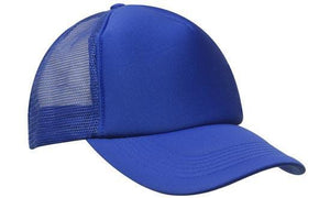 Headwear-Headwear Truckers Mesh Cap-Royal / Free Size-Uniform Wholesalers - 5