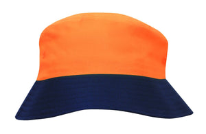 Headwear Luminescent Safety Bucket Hat (3929)
