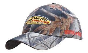 Headwear Leaf Print Camouflage Cotton Twill (4028)