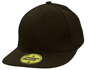 Headwear-Headwear Premium American Twill with Snap 59 Styling Cap-Black / Free Size-Uniform Wholesalers - 2