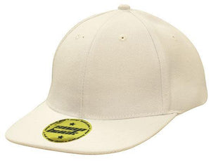 Headwear-Headwear Premium American Twill with Snap 59 Styling Cap-White / Free Size-Uniform Wholesalers - 4