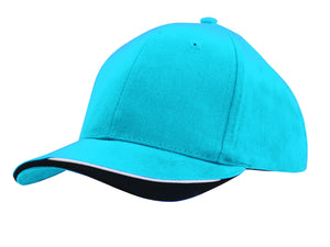Headwear Brushed Heavy Cotton with Indented Peak (4167)